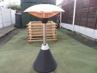 ratton table top patio heater.