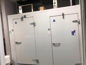 Immaculate Self-Contained 6x12 Walk In Cooler/Freezer Combo