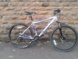 Viper concept TR 2.5 Light Weight Aluminium 7005 Hard Tail Mountain Bike 24 Speed- Disk Brakes