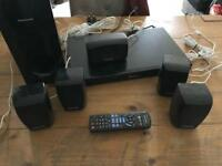 Panasonic 3D bluray 5.1 home cinema system