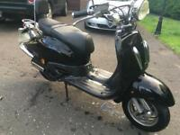 59 TAMORETTI 125CC RETRO MOPED WITH MOT!! LEARNER LEGAL!! RIDE IT AWAY ONLY £350 LIKE VESPA PIAGGIO