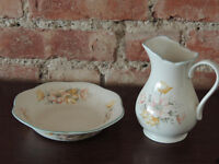 Jug and Bowls x 2 sets available (Delivery)