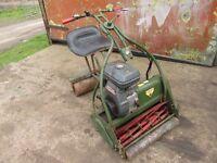 Petrol Lawnmower - Sit-on