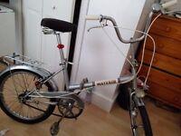 Mayfair folding bike with dynamo