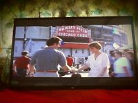 wow 60 inch full hd wall mounting LG television, in good condition and full working order