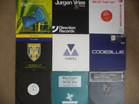 "52 dance vinyl 12"" records collection. EXCELLENT cond. Trance House Progressive Tech Minimal"