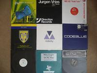 "52 dance vinyl 12"" records collection. EXCELLENT cond. Trance House Progressive Tech Minimal"