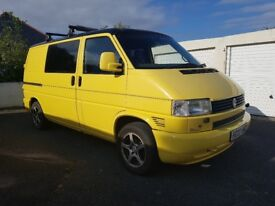 VW T4 Transporter 2.5 (2002) - LPG and fresh MOT!