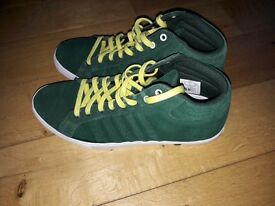Trainers KSWISS Size 8 Forest Green Suede