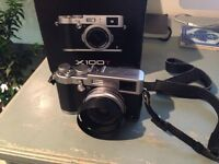 Fuji x100t rangefinder digital camera