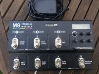 Line ^ M9 stompbox modeler