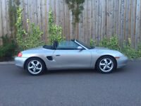 1999 T - PORSCHE BOXSTER 2 DR CONVERTIBLE AUTOMATIC 85K WITH HISTORY