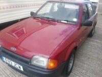 1987 Ford escort 1.3 pop