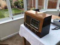 Vintage Ekco 1940's valve radio