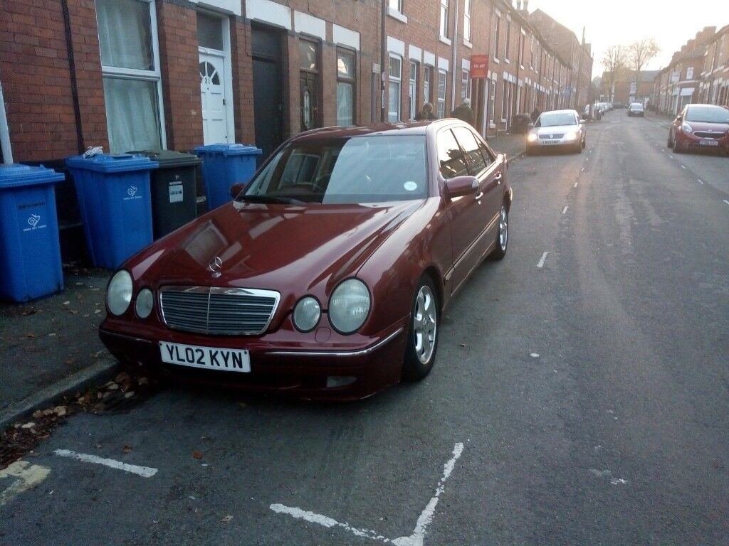 MERCEDES BENZ E CLASS AUTOMATIC IN GREAT CONDITION DRIVE PERFECT MOT  10MONTH   in Derby, Derbyshire   Gumtree