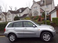 12 MONTH WARRANTY! (02) TOYOTA Rav4 2.0 GX 4WD Low Mileage - Full Toyota Service History (14 Stamps)