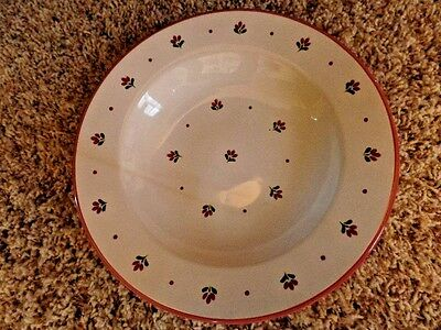 Pfalzkeramik Germany Flat Rim Soup Bowl 9