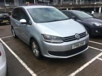 2011 CHEAP VOLKSWAGEN SHARAN S BLUEMOTION TDI S-A AUTOMATIC 140 BHP 7 SEATER 5 DOOR