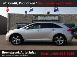 2011 Toyota Venza Base V6 Awd backup camera leather int.