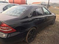 2001 Mercedes c220, 2.2 diesel, breaking for parts only, all parts available