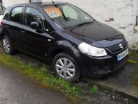 56/REG SUZUKI SX4 1.6 GL 5 DOOR ONLY 104K LADY OWNED FOR LAST 7 YEARS