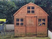 Excellent children's playhouse and garden shed - 6ft x 6ft x 6ft
