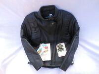 Ladies (size 12) AKITO leather motorbike Jacket