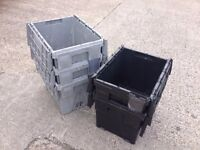 Heavy Duty Used Plastic Tote Boxes | 60 Litre | Part Containers