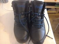 A pair of firetrap boots size 8 in black worn 4times