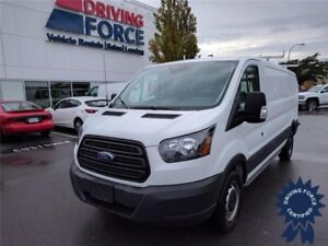 2017 Ford Transit T-250 Low Roof Cargo Van - 4,400 KMs, 3.5L V6
