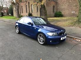 BMW ONE SERIES 120D M SPORT....COUPE, 2010 (10 PLATE)