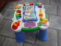 Leap frog musical play table