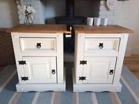 Beautiful Pair Of bedside tables