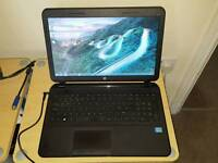 HP 250 laptop. Core i3-3110. 4gb ram. 500gb hdd