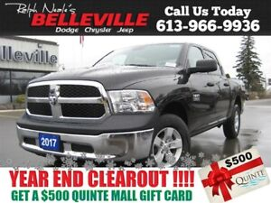 2017 Ram 1500 Crew CAB - 8 SPD Transmission - Tonnau Cover - Hit