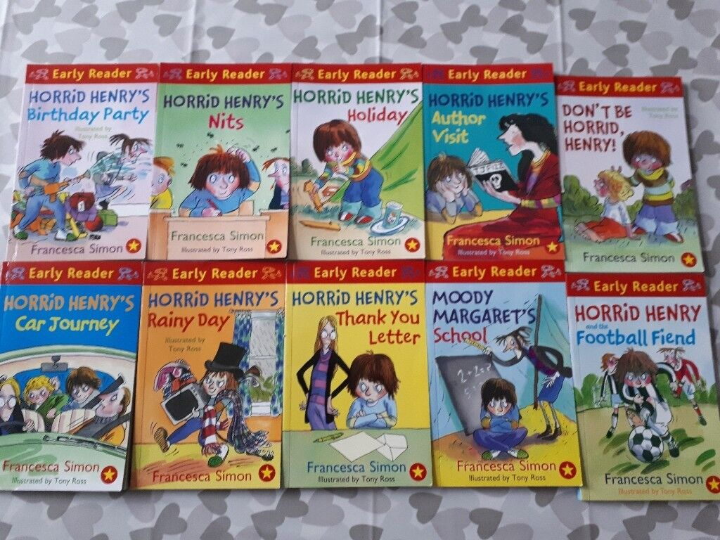 Horrid henry book set in urmston manchester gumtree horrid henry book set expocarfo