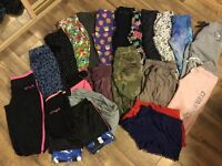 Girls clothes. Age 6-7 years. Leggings, trousers, shorts