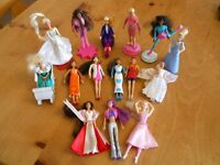 15 x MINI BARBIE DOLLS