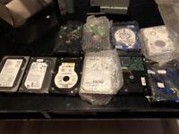 Hard drives and dvd drives