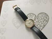 Men's slim omega vintage watch