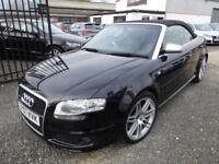 Audi RS4 RS4 QUATTRO 2dr CABRIOLET + FULL SERVICE HISTORY + ONLY 3 OWNERS FROM NEW (black) 2007