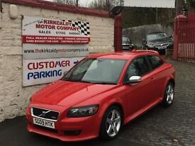 VOLVO C30 1.6 R DESIGN Sport 3dr (red) 2009