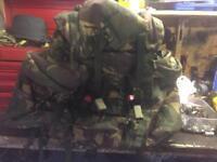 Army Bergan rucksack