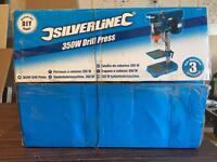 Silverline 350w Drill Press Pillar Drill