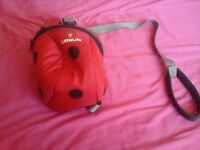 Little life ladybird back pack with handle