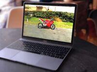 Top-spec Space Grey MacBook 12 2017 1.4GHz i7/16GB RAM/512GB SSD