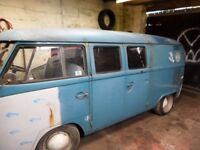 1966 vw splitty campervan