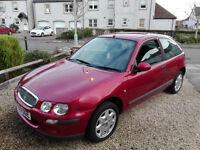 Rover 25 - 1.4 - 2001 - MOT April 2017
