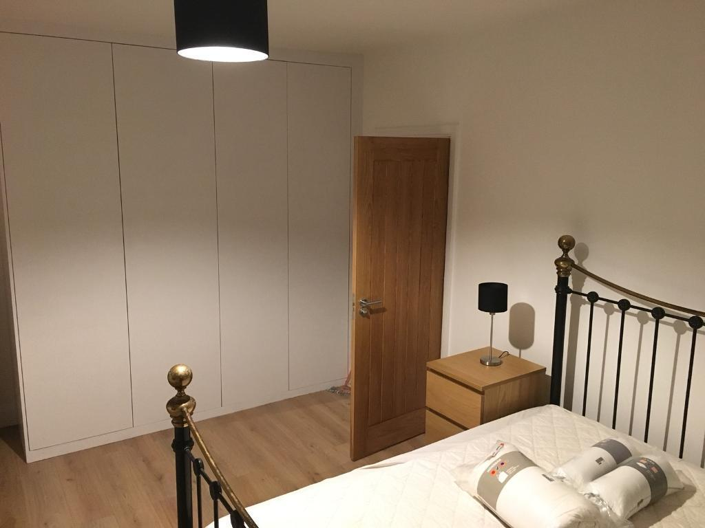 1 large double room to rent -bills included-newly furnished