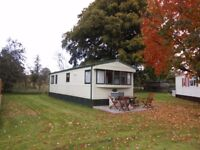 STATIC CARAVAN 2 BEDROOM SLEEPS 7 IN FINTRY STIRLING